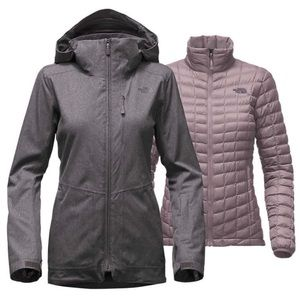 The North Face 3 in 1 thermoball parka ski jacket